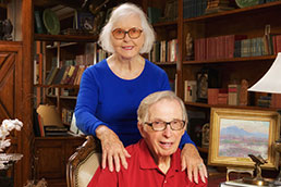 Photo of Neil and June Ash. Link to their story.